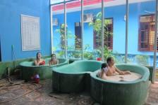 tắm bùn tại thanh lâm resort
