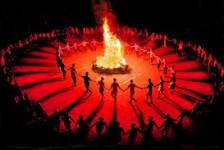 lửa trại tại thanh lâm