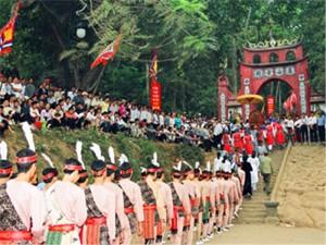 du lịch lễ hội đền hùng
