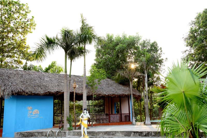 Không gian cafe, ăn sáng tại Thanh Lâm Resort