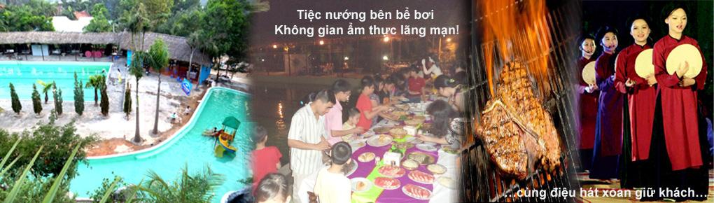THANH-LAM-RESORT- TIỆC NƯỚNG BÊN BỂ BƠI