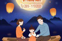 Mừng tết trung thu Thanh Lâm tưng bừng giảm giá